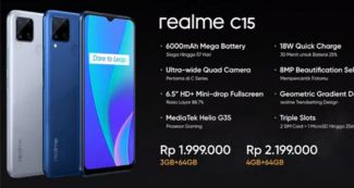 Представлен Realme C15: дешевый способ получить большой дисплей и емкий аккумулятор