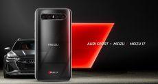 Meizu 17 может получить тюнингованную версию под брендом Audi