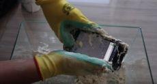 Blackview BV6000: что будет со смартфоном, если замесить тесто с ним?