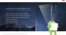 Список смартфонов компании Elephone, которые получат Android 6.0 Marshmallow