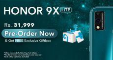 Рассекретили характеристики Honor 9X Lite