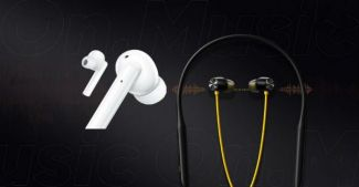 Представлены Realme Buds Wireless Pro и Buds Air Pro с шумодавом