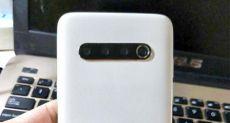 Белый Meizu 17 на фото