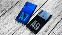Видеообзор: блиц-сравнение «породистых середнячков» Samsung Galaxy A9 и Galaxy A7