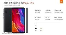 Xiaomi Mi Max 3 Pro — возможно главный планшетофон рынка с Snapdragon 710