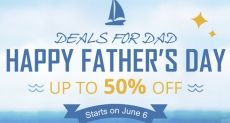 Распродажи и скидки в честь «Дня отца» в Everbuying.com