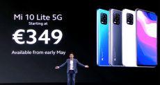 Предзаказ на Xiaomi Mi 10 Lite уже стартовал в Китае