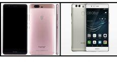 Сравнение Huawei P9 и Honor V8: сравнение флагманов и выбор цены
