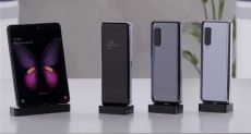 Samsung Galaxy Fold на видео: без складки на экране не обошлось