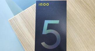 iQOO 5 Pro предстал на «живых» снимках