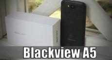 Blackview A5: обзор (распаковка) самых доступных 4,5 дюймов