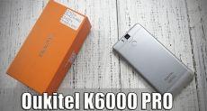 Oukitel K6000 Pro: распаковка смартфона, с заявкой на флагмана в линейке долгоиграющих смартфонов