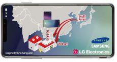 Samsung и LG остановят конвейеры по сборке смартфонов в Южной Корее
