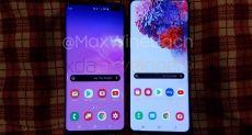 Новые фото и видео Samsung Galaxy S20+