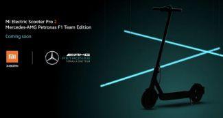 Xiaomi презентовала электросамокат в сотрудничестве с Mercedes AMG Petronas F1