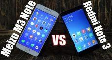 Сравнение Meizu M3 Note против Xiaomi Redmi Note 3