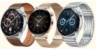 В Европе представлены стильные Huawei Watch GT 3