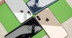 Продажи iPhone падают вместе со всем рынком смартфонов. Сокращение производства мобильников продолжится