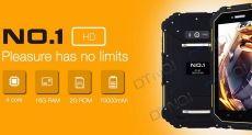 No.1 X5: защищенный 7-дюймовый планшет с поддержкой 4G LTE