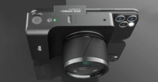 Концепт Alice Camera: странная и дорогая приблуда в попытке объединить смартфон и зеркальную камеру