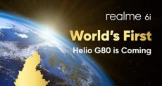 Realme 6i: анонс уже скоро и первый с Helio G80