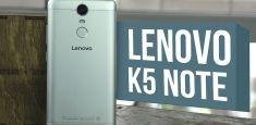 Lenovo K5 Note: распаковка главного конкурента Meizu M3 Note