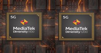 MediaTek анонсировала чипы Dimensity 1100 и Dimensity 1200 для мощных 5G-смартфонов