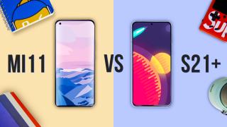 Битва флагманов: Samsung Galaxy S21+ vs Xiaomi Mi 11
