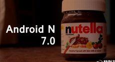 Android 7.0 (Android N): первые скриншоты интерфейса новой операционной системы