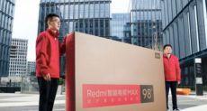 Redmi представила огромный телевизор Smart TV Max за $2825