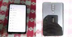 Смартфон Nokia с тройной камерой показали на фото