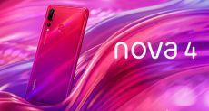 Анонс Huawei Nova 4: «дырка» в экране», самая миниатюрная фронталка и 48 Мп датчик в основной камере