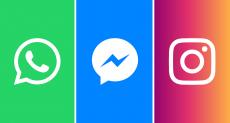 Facebook меняет название Instagram и WhatsApp