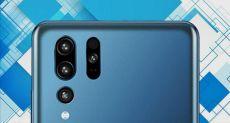 Рендер Huawei P30 демонстрирует тройную камеру и расположение датчиков