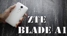 ZTE Blade A1: достойный постоялец в вашем кармане