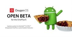 OxygenOS Open Beta на Android Pie доступна для OnePlus 6
