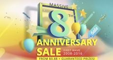 Не пропусти акции и распродажи в честь 8-летия магазина Everbuying.net!