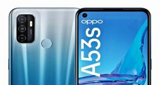 Представили доступный 5G-смартфон Oppo A53s