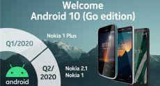 Стало известно, какие смартфоны Nokia и когда получат обновление до Android 10 Go Edition