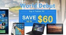 Скидки на планшеты Teclast X89 Kindow, Tbook 11, X80 Pro и X10 в интернет-магазине Banggood