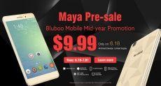 Bluboo дает шанс купить Bluboo Maya, X9, Xfire, Xtouch, Picasso и Uwatch за $9.99