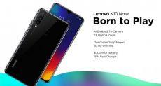 Lenovo A6 Note и Lenovo K10 Note официально представлены