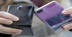 Samsung Galaxy Z Flip против Motorola Razr: дроп-тест смартфонов