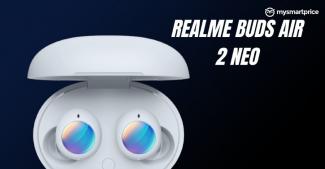Realme Buds Air 2 Neo станут самыми дешевыми наушниками с активным шумодавом