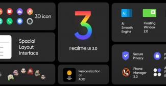 Представлена Realme UI 3.0 на базе Android 12: чище, организованнее, быстрее и плавнее
