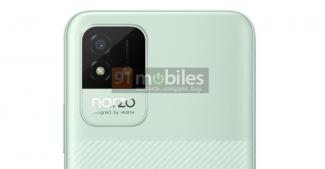 Показали Realme Narzo 50i в стильной расцветке
