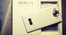 Lumia 950 Diamond Edition с отделкой из кожи, золота и алмазов оценили в 1950 евро