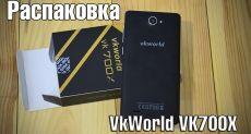 VKworld VK700X: видео распаковки бюджетника, способного потеснить одноклассников