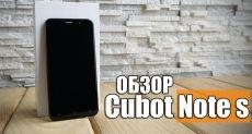 Cubot Note S: видеообзор бюджетника по китайскому шаблону