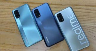 Realme V5 теперь предстал и на «живых» снимках